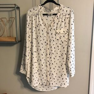 NWOT Pink Martini Button-Down Tunic